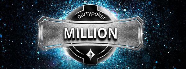 Játssz a vasárnapi garantált 1 millió $-os versenyen