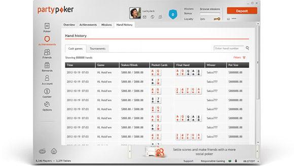 Replayer screenshot